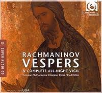 Rachmaninov: Vespers - All Night Vigil by Estonian Philharmonic Chamber Choir (2008-08-12)