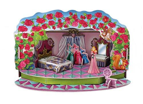 Bullyland 11905 - Walt Disney Dornröschen Magic Moments, Spielset, ca. 19,5 x 11,3 x 11 cm