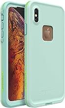 Lifeproof FRĒ Series Waterproof Case for iPhone Xs Max - Retail Packaging - Tiki (FAIR Aqua/Blue Tint/Lime)