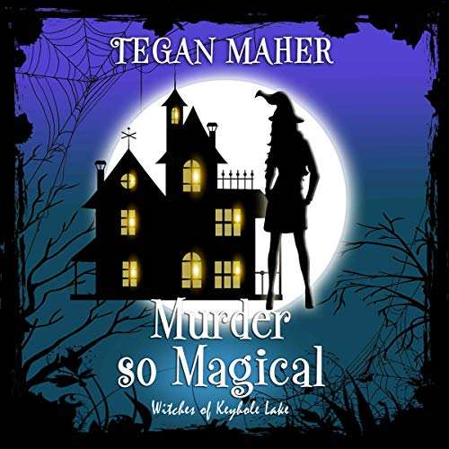Murder So Magical audiobook cover art