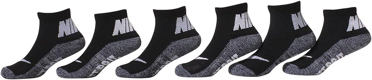 Nike Little Boys Cushioned Ankle Socks 6 Pack