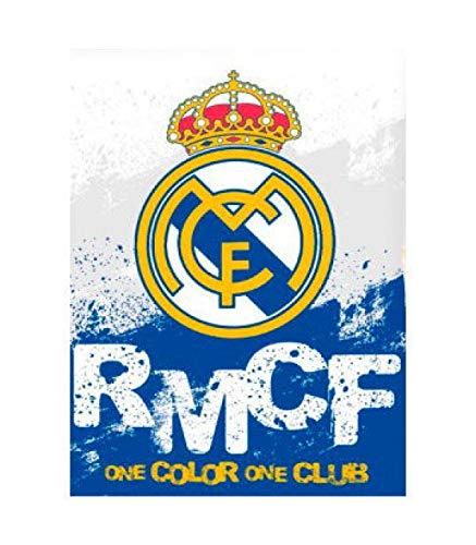 Real Madrid Manta coralina Premium 250gr (100-295), Multicolor, 130x160