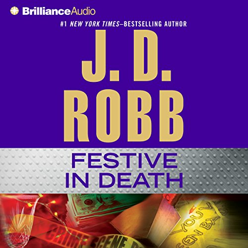 Festive in Death cover art