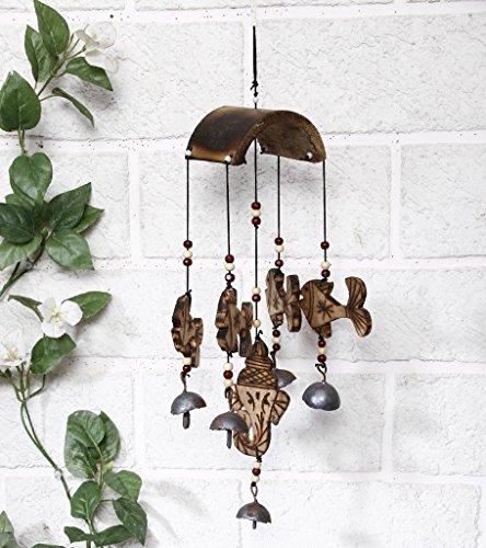 Inde découverte en bambou Poisson Carillon