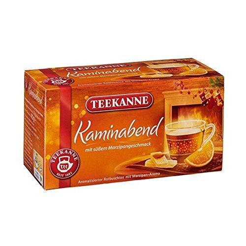 Teekanne Kaminabend 20 Beutel, 2er Pack (2 x 40 g)