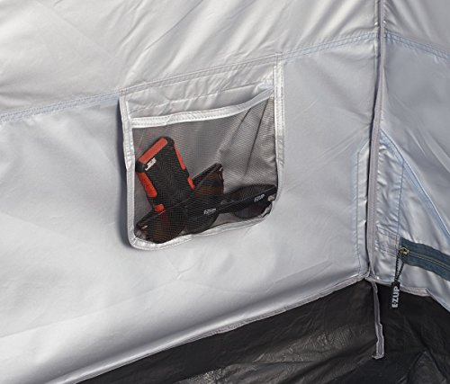 E-Z UP Camping Cube 6.4, Converts 10' Straight Leg Canopy into Camping Tent, Splash
