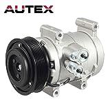 AUTEX AC Compressor and A/C Clutch CO 10835C 67677 68677 Compatible with Tacoma 2005 2006 2007 2008 2009 2010 2011 2012 2013 2014 2015 2.7L 4.0L