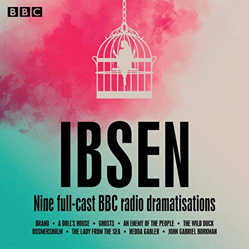 Henrik Ibsen audiobook cover art