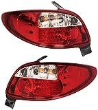 FK Automotive FKRLXLPG103 LED Feux arrière, Rouge