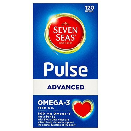 Seven Seas Pulse Advanced Omega 3 Tablets, 120-Count