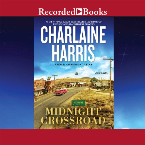 Midnight Crossroad Audiobook By Charlaine Harris cover art