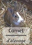 Carnet d'élevage: Parfait pour un élevage de lapin | Idéal pour tout éleveur(se) amateur en cuniculture | Personnalisable | Dimensions 7x10' (soit 17,8x25,4cm) | 100 pages à compléter