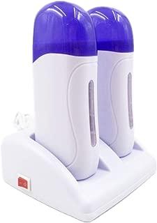 SuperMega® Cartucho - Calentador Cera Tibia depilación de cartucho Roll On (Blanco 2 Rolones)