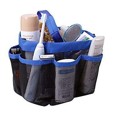 Shower Caddies,Shower Tote Bag Mesh Shower Caddy Toiletry Tote Bag Hanging Quick Dry Bath