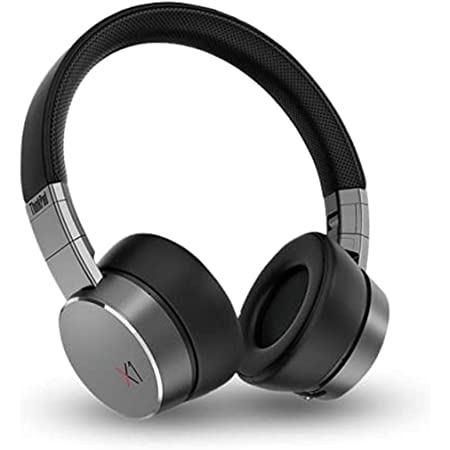 Lenovo Headset - Wireless - Bluetooth - Over-The-Head - Noise Canceling