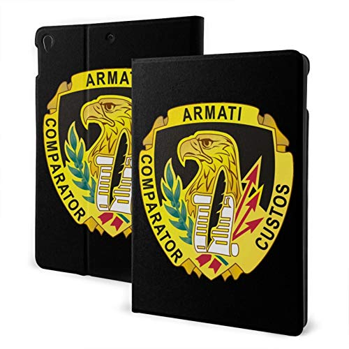 Fejarx U.S. Army Contracting Command The New Ipad Eighth Generation (2020)/Seventh Generation (2019)/ 10.2-Inch Shell-Corner Protection Multi-Angle Split Case