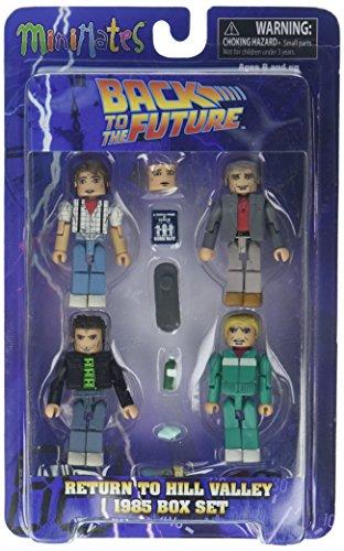 Back to the Future 30th Anniversary Minimates 1985 Box Set