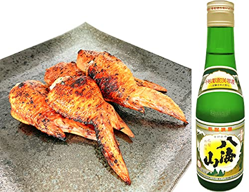 八海山 清酒 300ml 手羽餃子10本セット (冷蔵品)