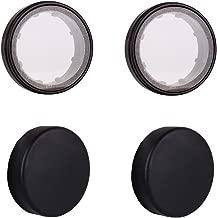 Camera UV Lens Protector Cap Kit for HD GoPro Hero 3 Hero 3+ Hero 4,AKASO Brave 4 Action Camera 4 Pack by HOLACA