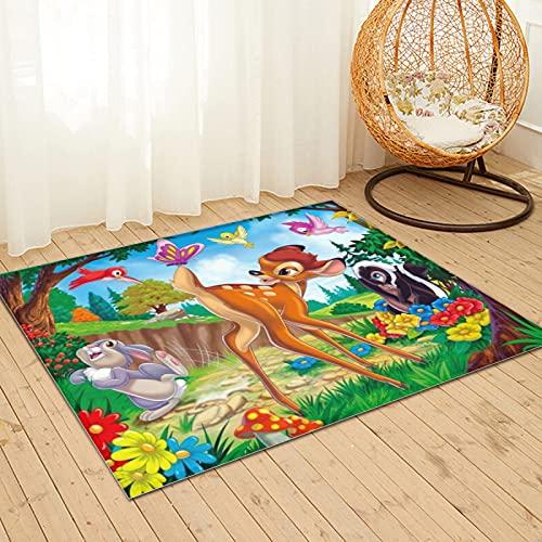 Large Puzzle Disney Bambi - Alfombra de baño (91 x 61 cm), color suave y antideslizante
