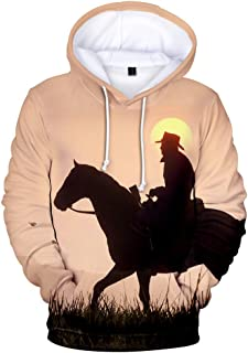 Arthur Morgan Hoodie Cosplay Pullover 3D Printed Sweatershirt Pants