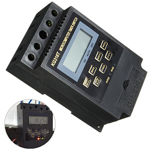 KG316T 220V LCD Microcomputer Power Supply Timer Switch Programmable Controller