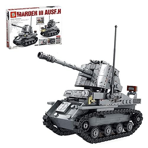 YIGE Tecnica carro armato modello, 479 pezzi, set da costruzione, compatibile con la tecnica Lego