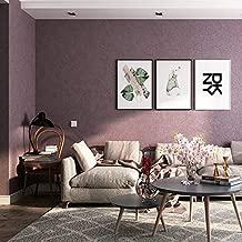 Papel Pintado Pared No tejido Fondo de TV Mural Decoración para el hogar Papel de pared, Mejora profesional de telas no tejidas, Sedaberenjena deseda de fibra larga