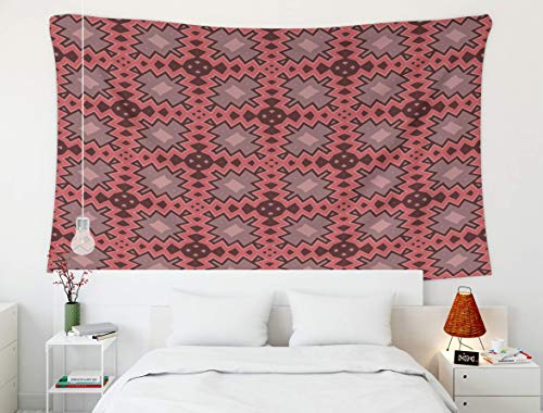 Tapiz del Rey Tapiz, Acuarela león, Tapiz, Tapiz Tapiz de Pared para decoración del hogar Patrón geométrico sin Costuras con Zigzags Triángulos para Textiles Diseño de Libro Fondo Vect