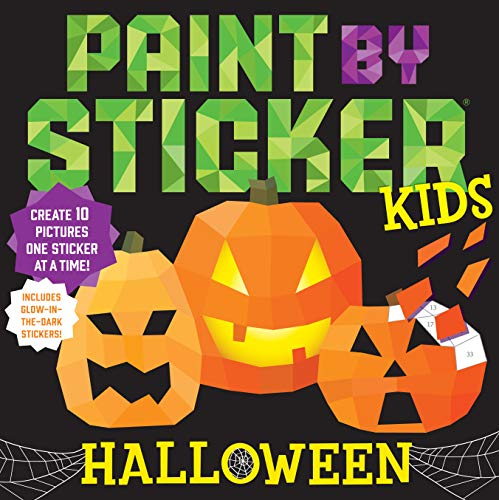 Workman Publishing: Paint by Sticker Kids: Halloween