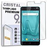 REY Protector de Pantalla para WIKO Lenny 4, Cristal Vidrio Templado Premium