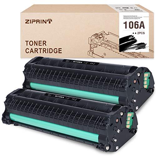 ZIPRINT (con chip) compatibile Toner HP 106A W1106A con HP...
