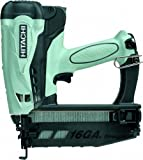 Hitachi NT65GS Cordless Gas Finish Nailer for...