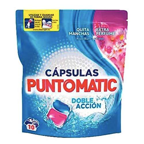 Punto Matic capsules Deter gram 10U. Duo (Deterg) kleur, neutraal, medium