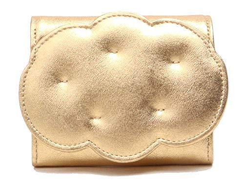 ツモリチサト 財布 二つ折り tsumori chisato クモフワコモノ 5756111 (ゴールド)