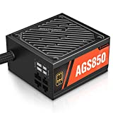 ARESGAME 850W Power Supply 80+ Gold Semi Modular PSU (AGS850)