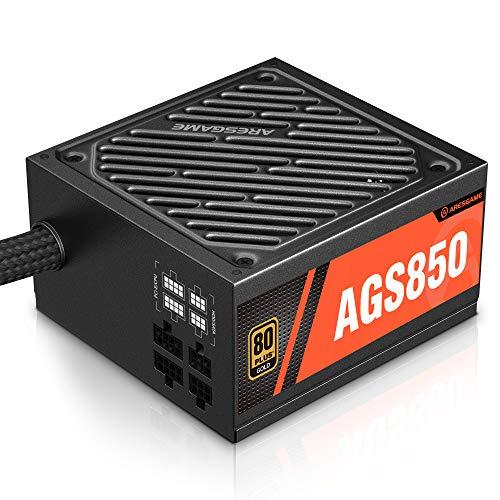 ARESGAME 850W Alimentatore PC, Semi-modulare, 80 Plus Gold (AGS850)