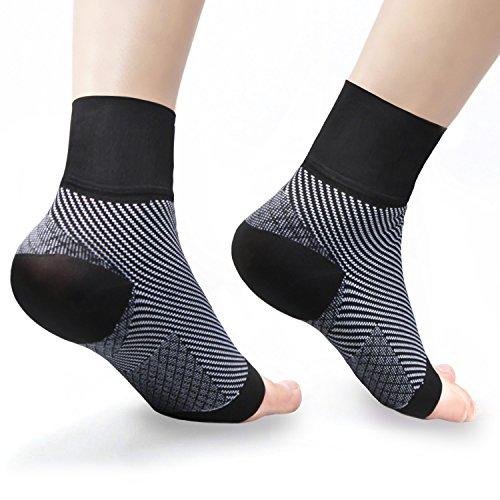 Plantar Fasciitis Socken, Aival Kompressionsocken Ärmeln mit Arch Support, erhöht die Durchblutung zur Erleichterung von Schwellungen, Fersensporn, Bogenschmerzen, Achillessehnenentzündung