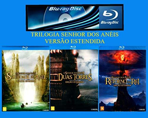 Trilogia A Saga: O Senhor dos Anéis - Versão Estendida - 6 Blu-Ray - ( The Lord of the Rings ) [ Blu-Ray ]