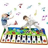 Tapete para Piano tamaño más Grande (53 * 23 Pulgadas) Juguete para niños con Teclado y Teclado para...