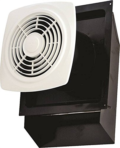 Air King EWF-180 Through the Wall Exhaust Bath Fan with 180-CFM and 6.5-Sones, White Finish
