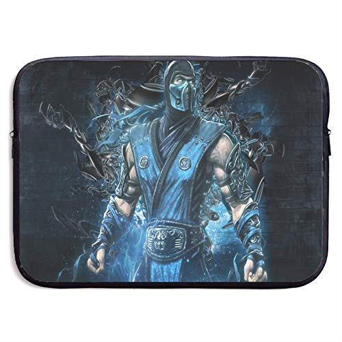 Sub Zer-o Morta-l Komba-t Laptop Sleeve Bag 15″ Computer Case Tablet Briefcase Waterproof Portable Messenger