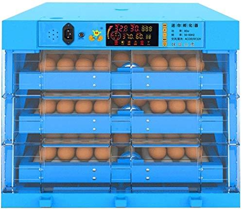 AJLDN Incubatrice per Uova, Incubatrice Eggs Automatic, 192 Uova Incubatore Intelligente Digitale con Schermo a LED di Temperatura e Sensore di Temperatura Preciso,X