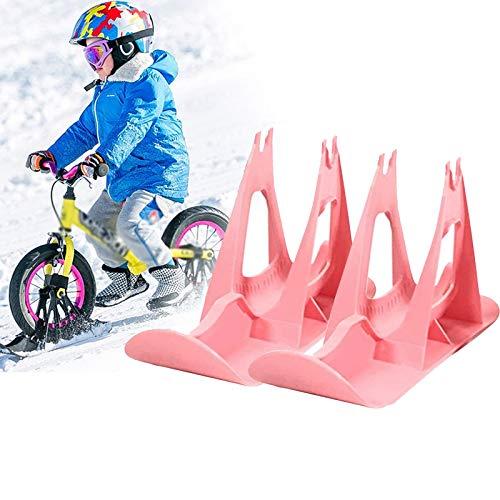 Eortzzpc Schlitten Für Balance Bike, Einfach Installieren Langlebig Tragbares Schlitten, Kinder Balance Ski Snow Sledge, Lassen Sie Die Kinder Die Freude Am Skifahren