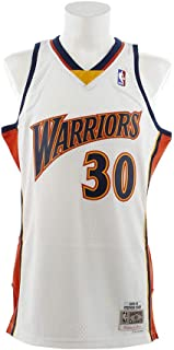 Mitchell & Ness Stephen Curry Golden State Warriors NBA Throwback Jersey White