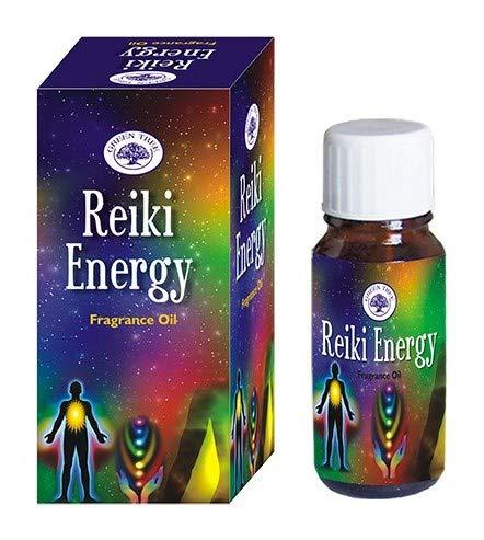 Green Tree Geurolie Reiki Energy - Aceite esencial (12 botellas)