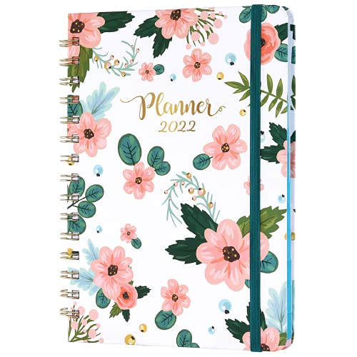 Amazon Brand – Eono 2022 Diary – A5 Week to View Diary Planner from January 2022 – December 2022, 21.5 x 15.5 x 1.5 cm