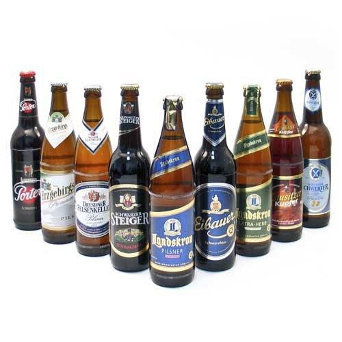 Probierpaket 'Sächsische Biere' (9 Flaschen / 5,4% vol.)