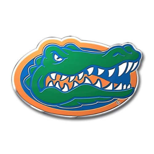 FANMATS University of Florida Heavy Duty Aluminum Color Emblem