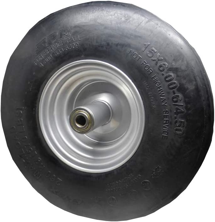 Dixie Chopper New product! New type Front online shopping Run-Flat Wheel for Lawn Mo Assembly 15x6x6